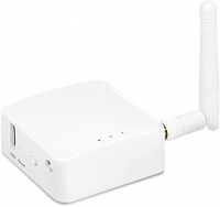 GL.iNET GL-AR150 Mini Travel Router with 2dbi External Antenna, Wi-Fi Converter, OpenWrt Pre-Installed, Repeater Bridge, 150Mbps