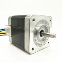 استپر موتور 42mm  گام 1.8 درجه 0.5 نیوتن 2.2ولت 6سیم Minebea تایلند مدل 127K 72911  17PM-F438CG07CN