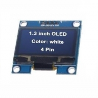 "4PIN 1.3"" OLED module blue color 128X64 1.3 inch LCD Module 1.3"" I2C"