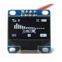 ماژول نمایشگر OLED سفید 0.96 اینچ I2C 128x64