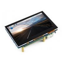 4.3inch, 800x480, Capacitive Touch Screen LCD, HDMI Interface, Supports Multi Mini-PCs, Multi Systems