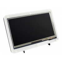 7inch Capacitive Touch Screen LCD (C) With Bicolor Case, 1024×600, HDMI, IPS, Low Power Consumption
