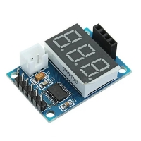 HC-SR04 test and display Board