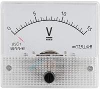 ولت متر پنلی میتر آنالوگ 15 ولت 85C1