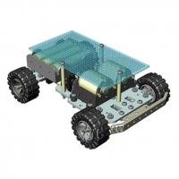 پلتفرم ربات 4WD با بدنه فلزی