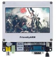 """Mini6410 بورد پردازنده ARM11 سامسونگ با نمايشگر """"4.3"""