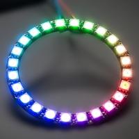 ماژول حلقه 24 تایی WS2812 LED RGB