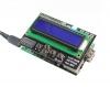 هت نمایشگر کاراکتری 16x2برای بورد رزبری دارای یک RGB و 5 کلید فشاری با رابط I2C