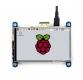 نمایشگر 4 اینچ رنگی 800x480 با تاچ مقاومتی IPS با ورودی HDMI سازگار با رسپبری