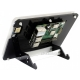 نمایشگر 7 اینچ IPS سری(C) تاچ خازنی 1240x600 قابدار HDMI  کم مصرف محصول Waveshare