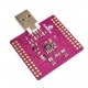 ماژول مبدل USB به UART FIFO SPI I2C JTAG RS232 با آیسی FT2232HL